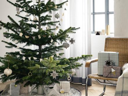 Ferm living juletræsfod og messingophæng