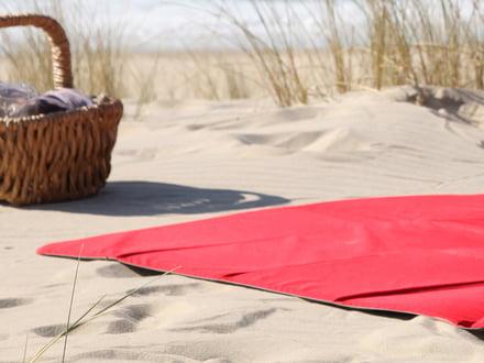 Picnictæpper til stranden eller haven