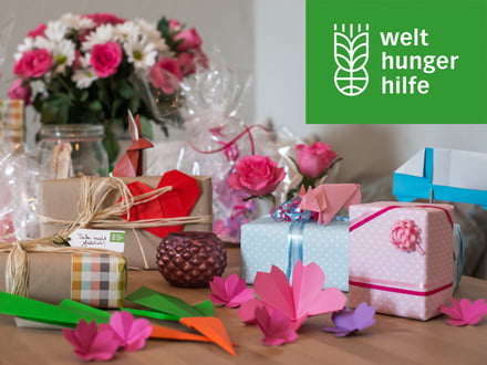 Gavedonationer fra den tyske Agro Action Welthungerhilfe