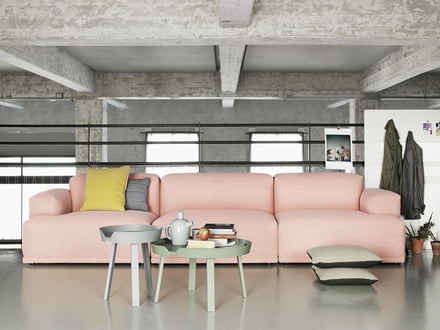 Muuto stue med Rose Sofa