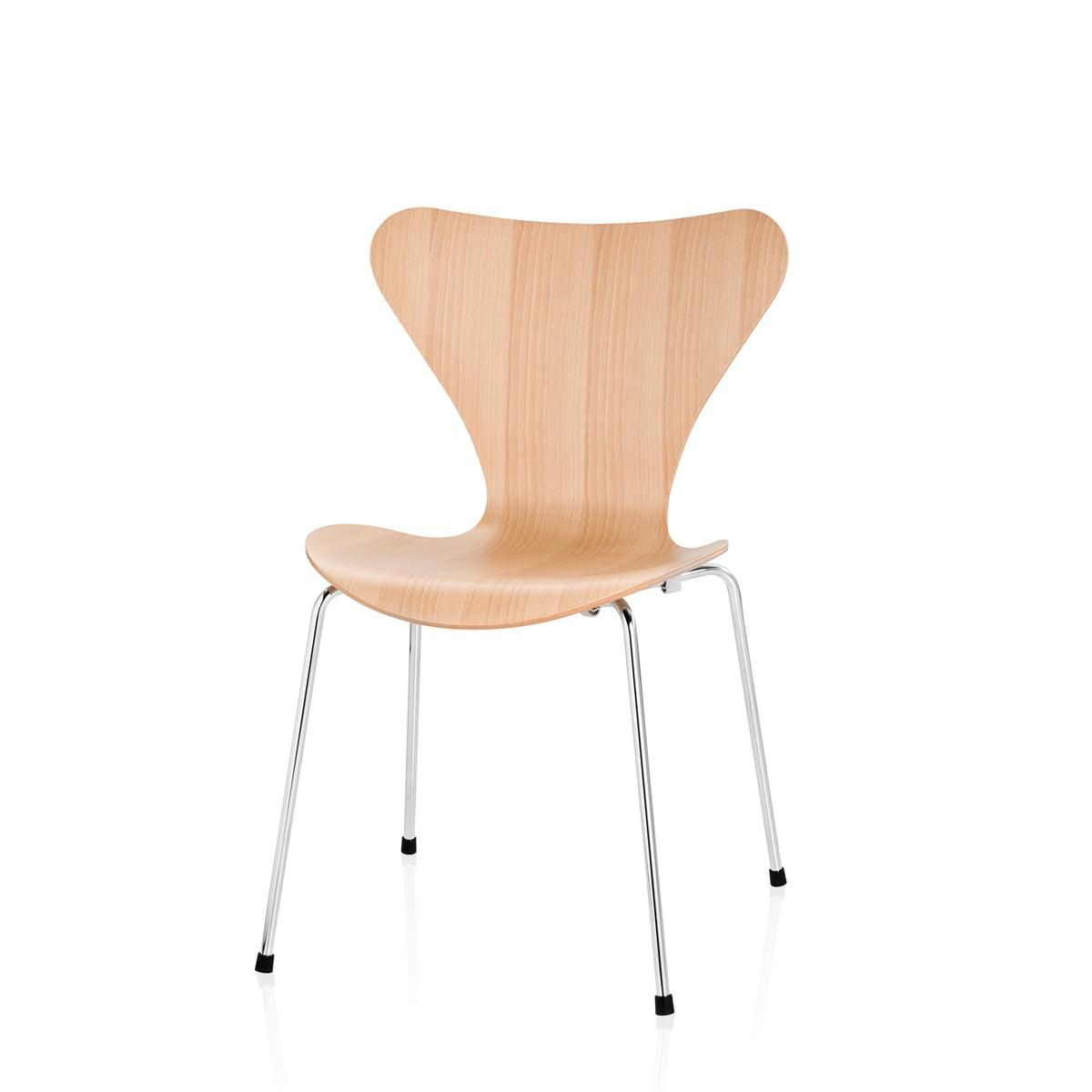 serie 7 barnestol fritz hansen shop. Black Bedroom Furniture Sets. Home Design Ideas