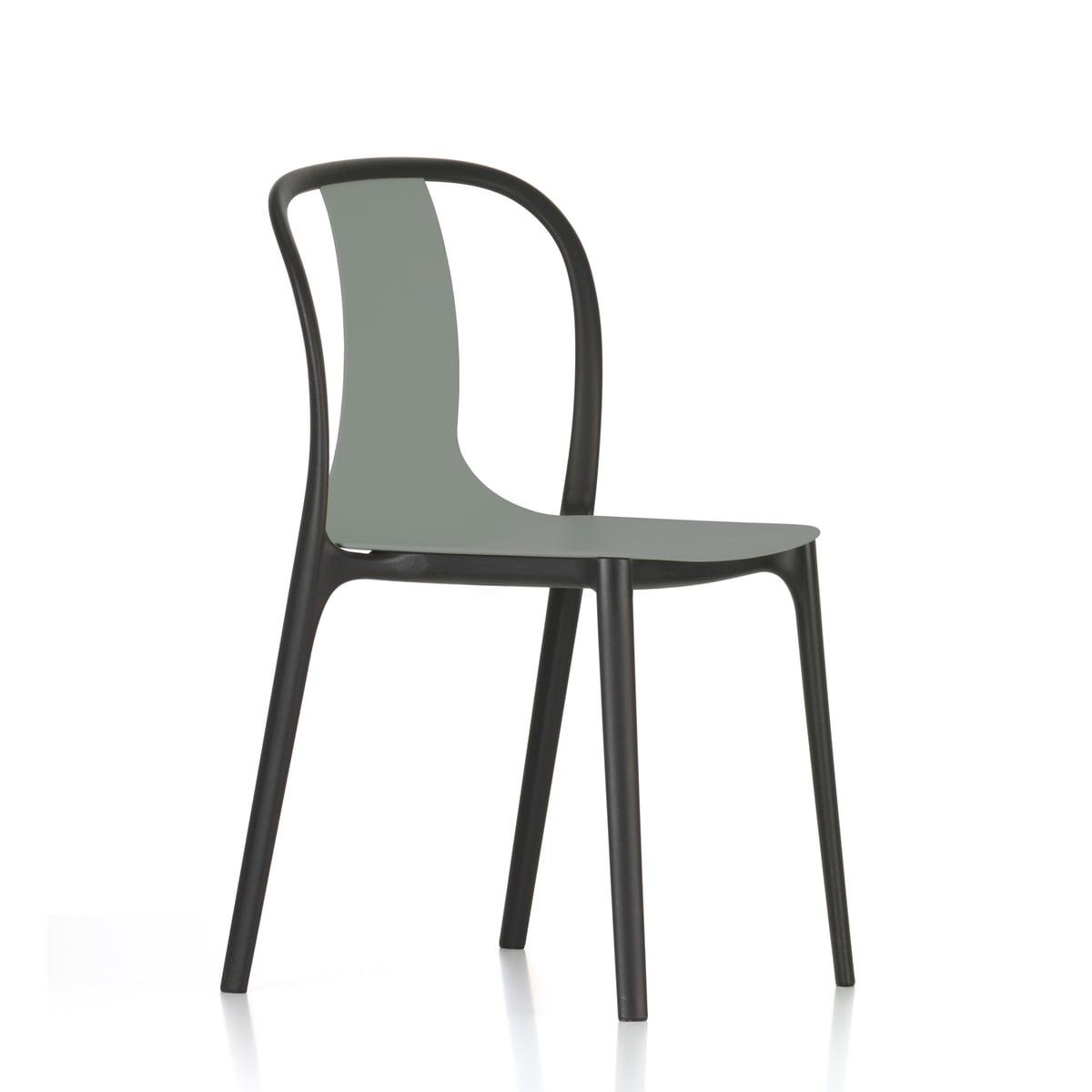 Belleville stol i plastik i interiørshoppen