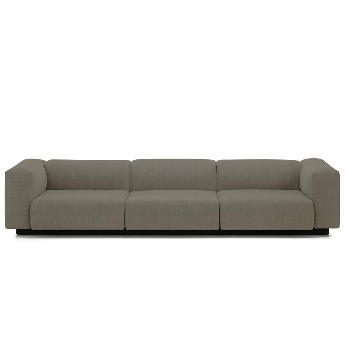 Ekstra Vitra Soft Modular 3-personers sofa i Connox Interiørshop ZF-96