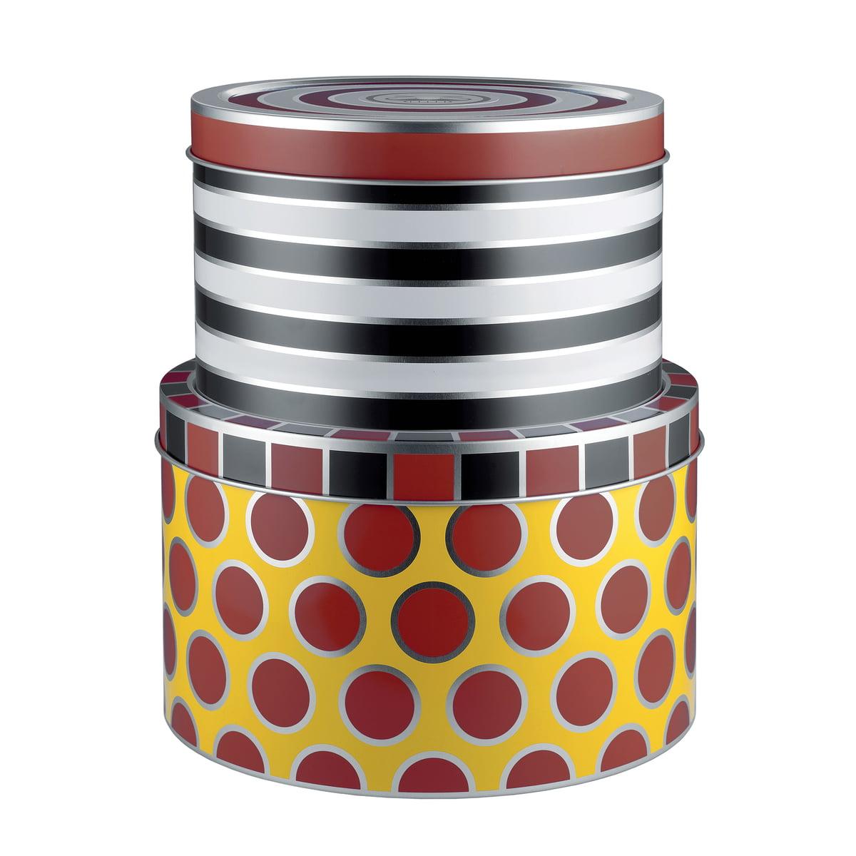 Fantastisk Circus opbevaringsdåser fra Alessi i interiørshoppen XL02