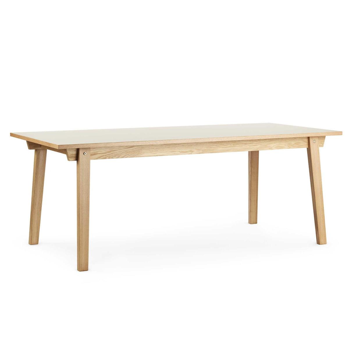 slice bord linoleum 90 x 200 cm fra normann copenhagen. Black Bedroom Furniture Sets. Home Design Ideas