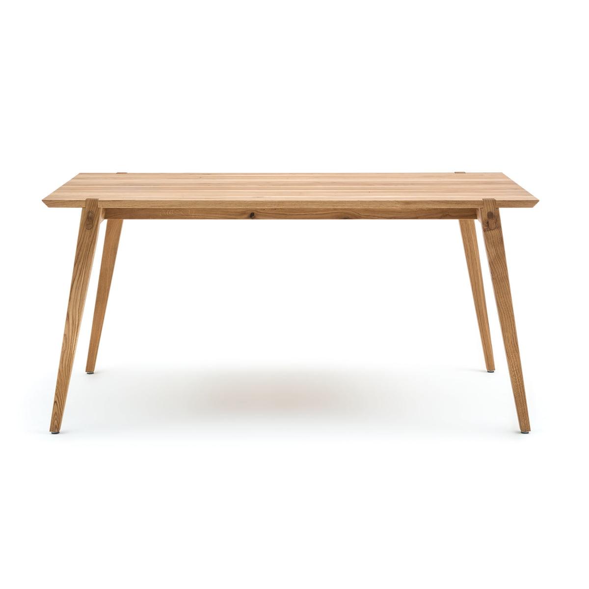 Freistil – 156 spisebord, 160 x 84 cm, ubehandlet eg