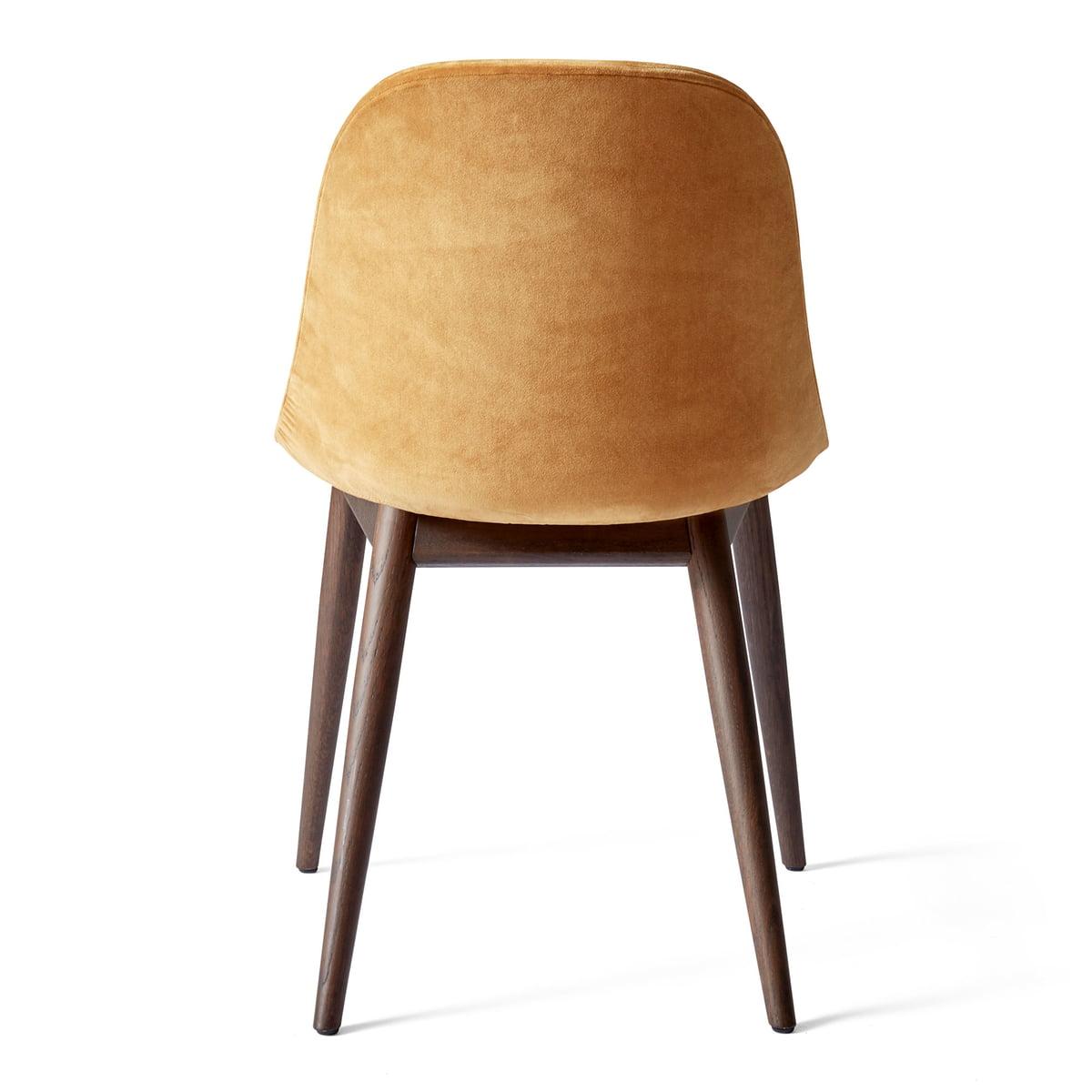 Menu Harbour Dining side stol, egetræ hvid