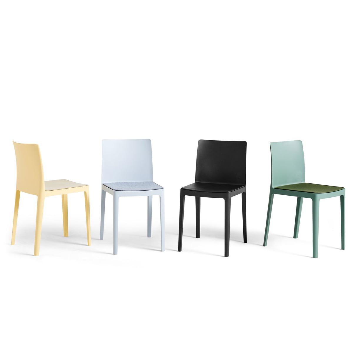 Hay Sædepude til élémentaire chair, antracit (steelcut trio 383)