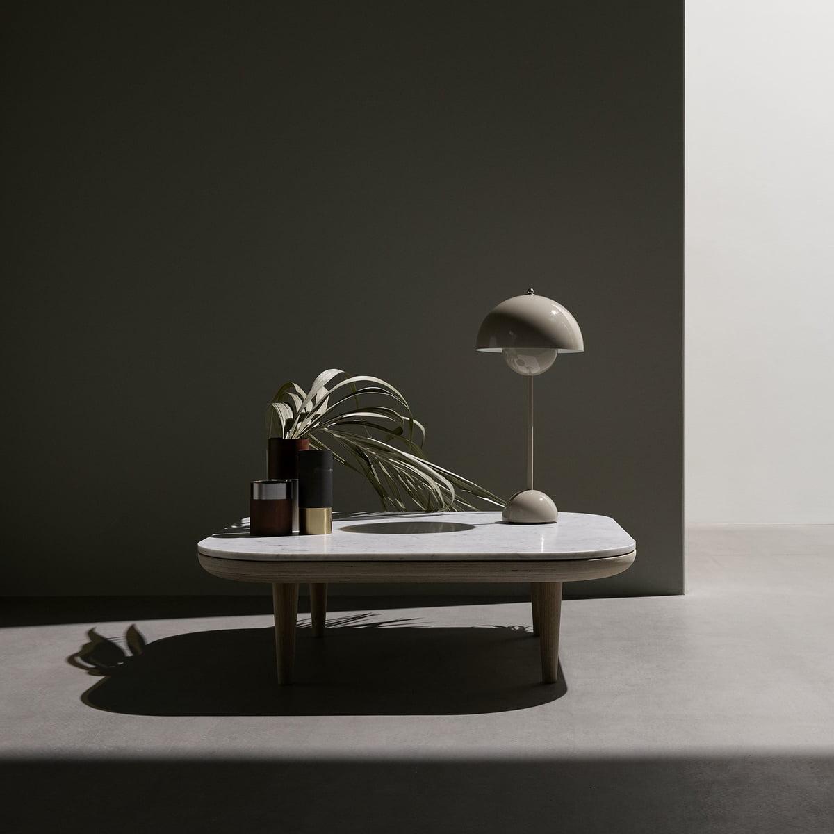 Sidste nye FlowerPot bordlampe fra &tradition - Connox GI-67
