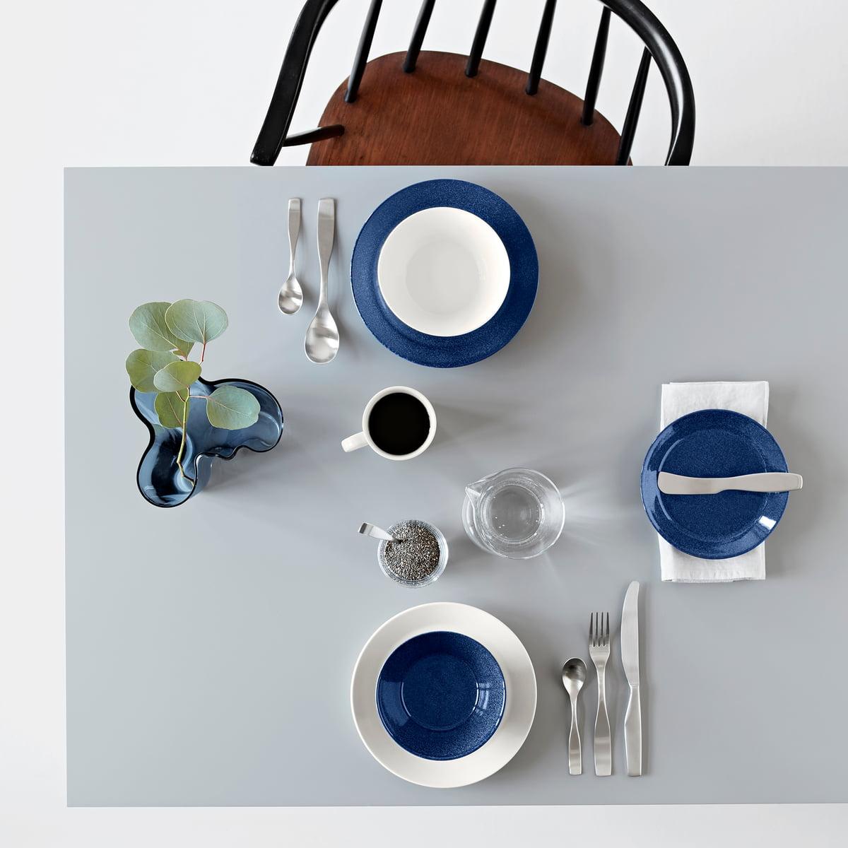 teema m rkebl meleret bordservice shop online. Black Bedroom Furniture Sets. Home Design Ideas