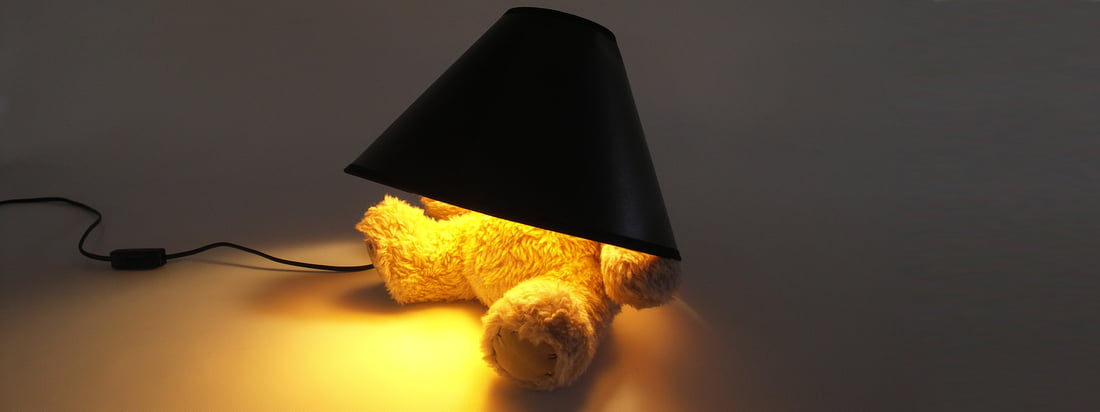 Designergadgets – Teddy Bear lampe fra Suck UK