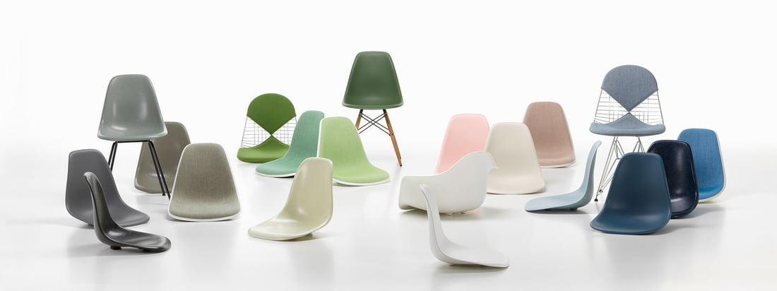 Vitra - Eames Plastic Stole Collection - Banner
