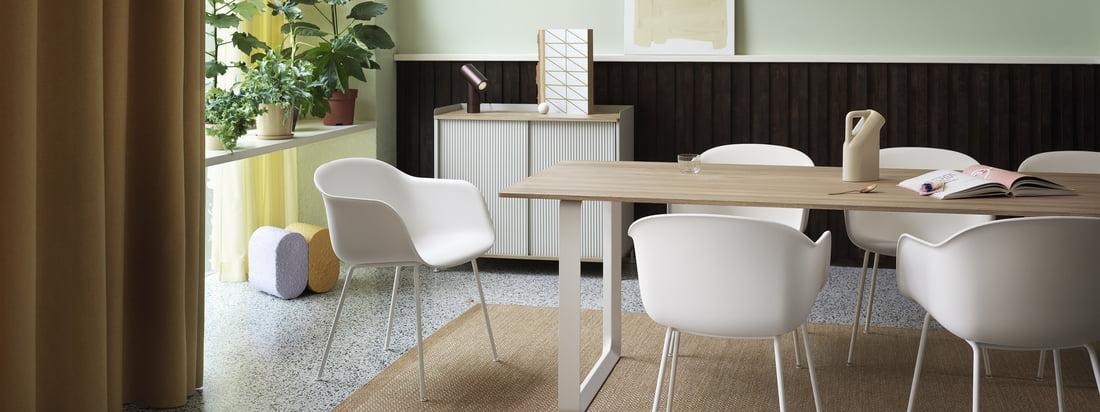 Muuto - Fiber chair kollektionen banner 3840x1440