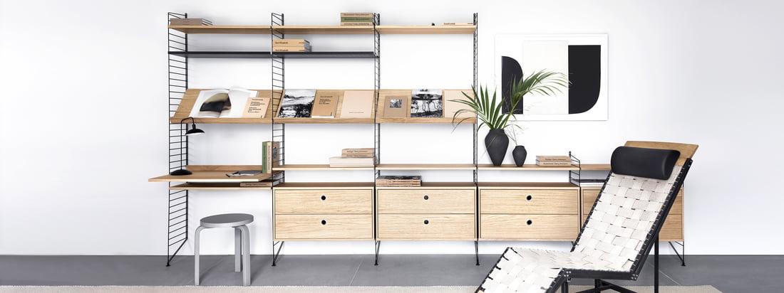 String - Producentens serie - Shelving System - Produktinformation - Banneroverskrift