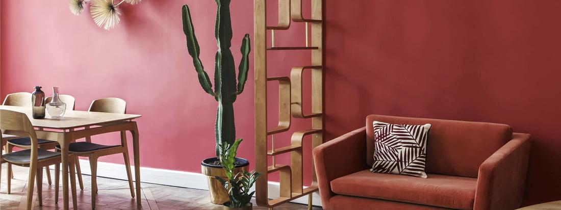 Rumdeleren fra Red Edition pynter i ethvert rum og passer særligt godt sammen med møblerne i Fifties kollektionen fra Red Edition.