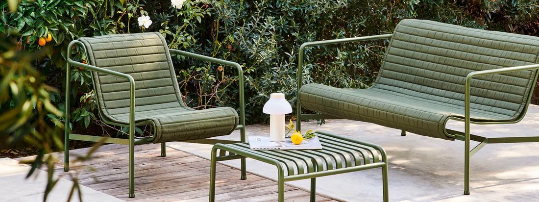 Hay - Palissade Lounge - Værelser - Have - Samling - Bannere - 16zu6