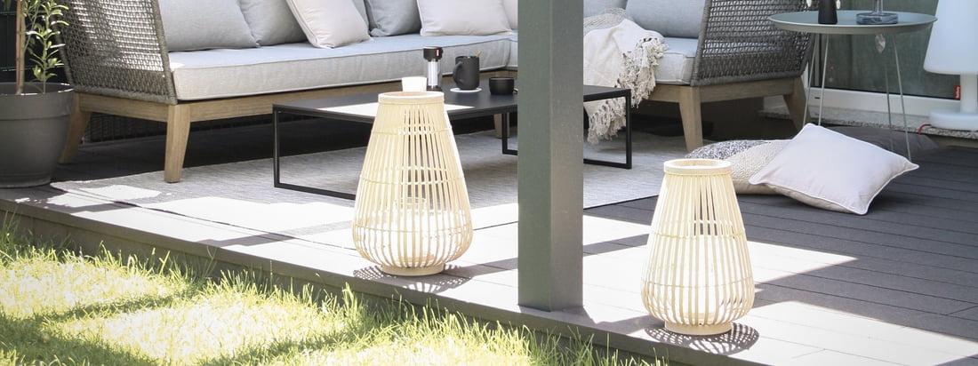 Udendørs atmosfære - Connox Collection lanterner