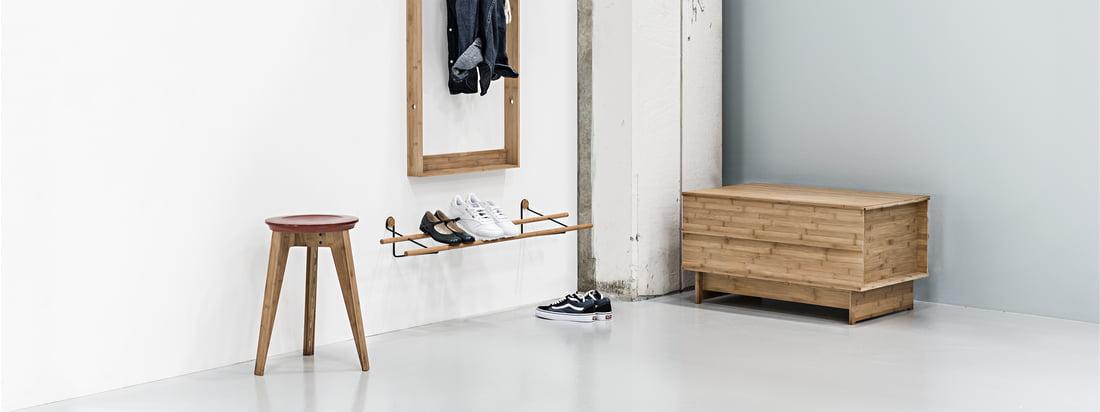 Nyttige møbler i indgangsområdet