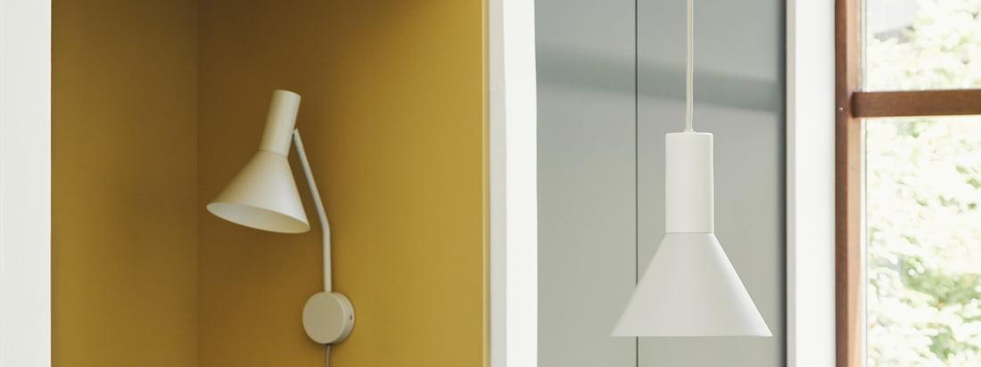 Lyss lampen er designet af designeren Toni Rie, designchef i Frandsen, og er tidløs og praktisk. Lampeskærmen kan bevæges frit via leddet mellem skærm og arm, selve lampen er forsynet med et stilfuldt tekstilkabel.