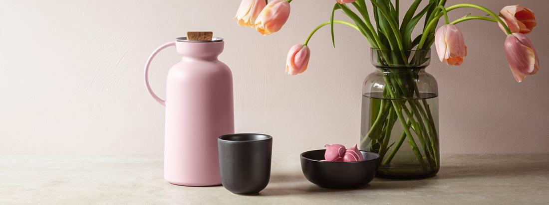 De forskellige produkter i Silhouette -kollektionen har en smuk mat overflade, der får dem til at se meget elegant og usædvanligt ud.