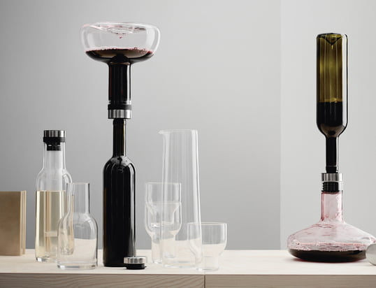 Find tilbehør til vin og bar til servering og nydelse...