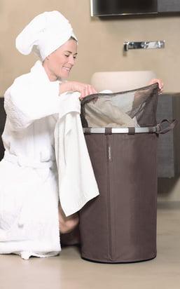 Vasketøjskurve og tørrestativer til dit vasketøj!