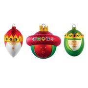 A di Alessi – julekugler med de tre vise mænd