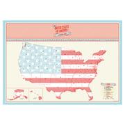 Luckies – Scratch Map USA