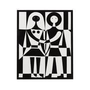 Vitra – Black and White kanvaskunsttryk