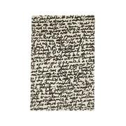 nanimarquina ─ Black on white tæppe