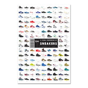 Pop Chart Lab – A Visual Compendium of Sneakers
