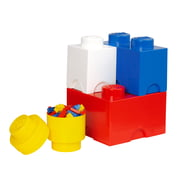 Lego – opbevaringsklods, multipak med 4 styk