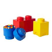 Lego – opbevaringsklods, multipak med 3 styk