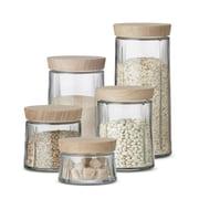 Rosendahl – Grand Cru opbevaringsglas med trælåg
