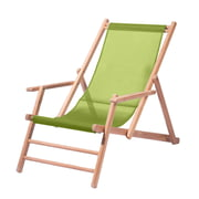 Jan Kurtz – Deckchair i teak, vævet plast