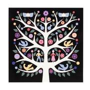 Vitra – grafisk vægpanel med Livets træ