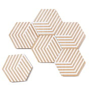 areaware – Table Tiles Optic bordskånere