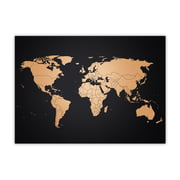 Awesome Maps – World Map Copper