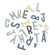 Sebra – magnetiske bogstaver