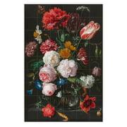 IXXI – Stilleben med blomster i glasvase (de Heem)