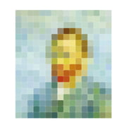 IXXI – van Gogh (pixel)