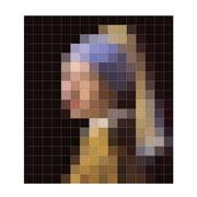 IXXI – Pige med perleørering (pixel)