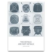 Vitra – Eames Quotes plakat