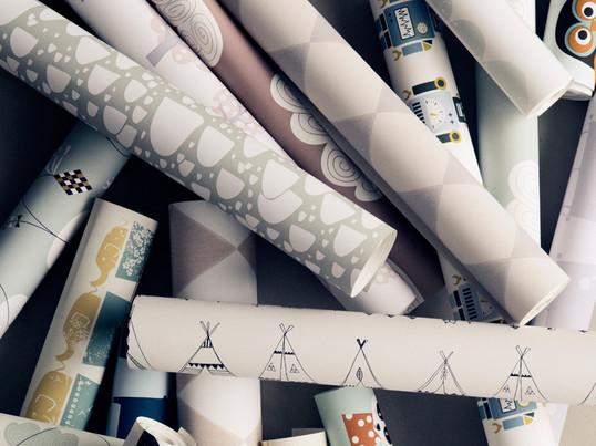 banner – gaveindpakning