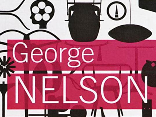"""Bogen """"George Nelson: Architect-Writer-Designer-Teacher"""" udgivet af Vitra Design Museum kommer ind på alle områder af Nelsons arbejde, til tider for første gang."""