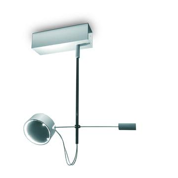 Absolut VLG loftslampe med 1 spot – mat krom