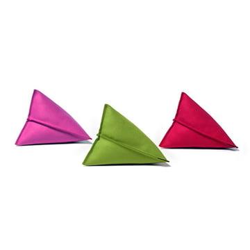 Hey Sign – Lily filtpuder, pink, grøn og rød