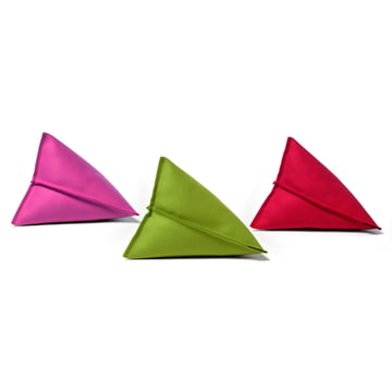 Hey Sign – Lily filtpuder, trio i pink, grøn og rød