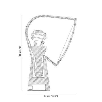 Foscarini – Binic bordlampe