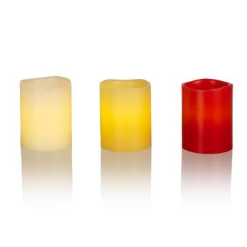LED-vokslys fra Klein & More